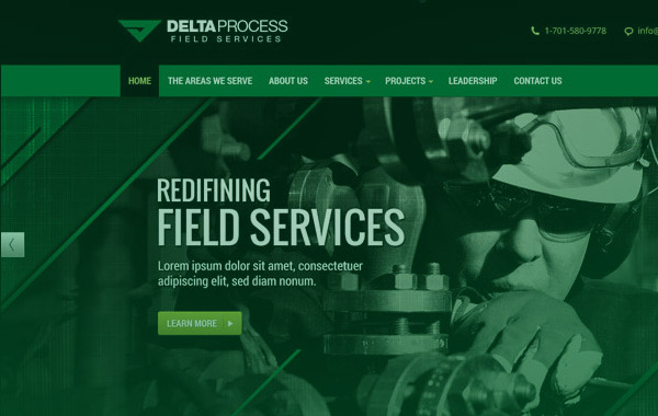 Delta Process Website