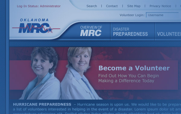 OKMRC Website Design