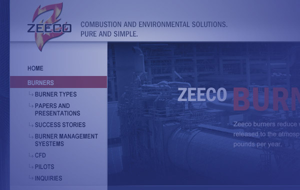Zeeco Website Design
